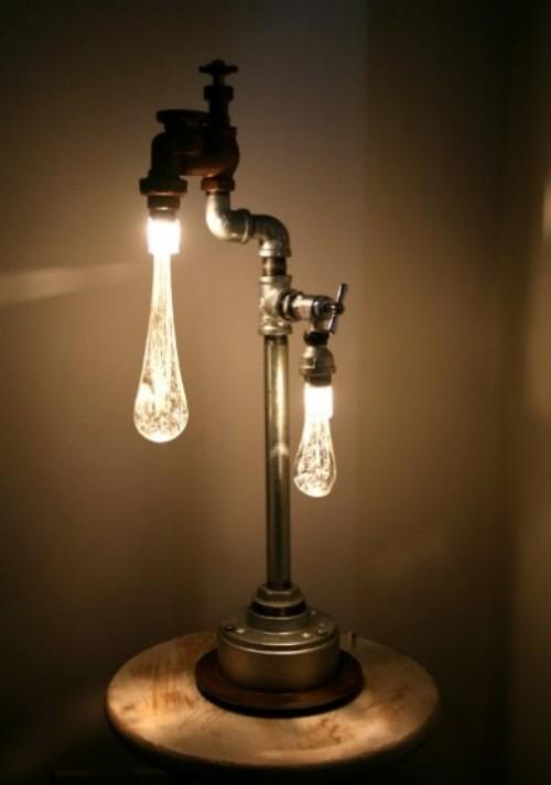 Junk pipe led lamp 2